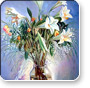 Flower art prints - Giclee prints on canvas