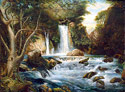 Banias - Israel Landscape Fine art Giclee print on canvas
