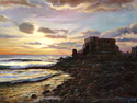 Caesarea - Landscape Fine art Giclee print on canvas