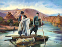 Fisherman's - Landscape Fine art Giclee print on canvas