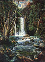 Banias - Israeli Landscape Fine art Giclee print on canvas